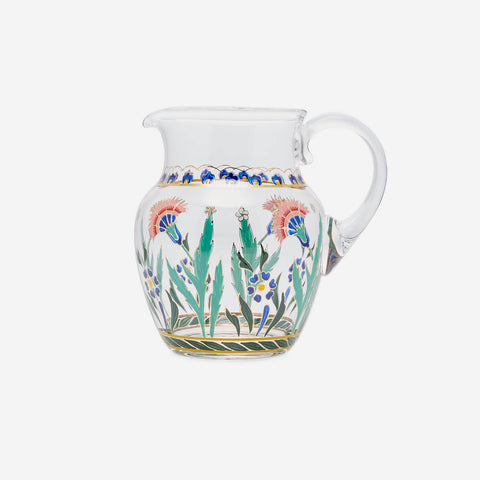 Lobmeyr Persian Flower No. 3 Hand-painted Pitcher