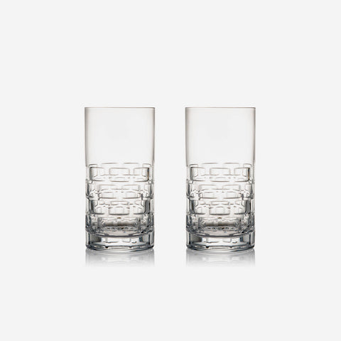 Rogaska Crystal - Maison Highball Tumbler Glasses