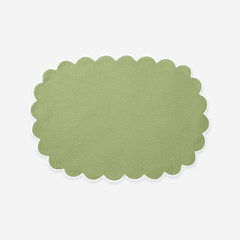 Matouk Set-of-Four Savannah Gardens Placemats - Spring Green