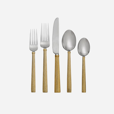 Michael Aram - Wheat Gold - 5-piece-flatware-set - Bonadea