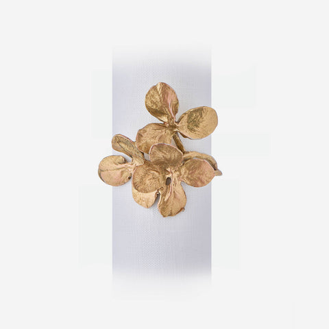 Clover Set-of-4 Napkin Rings