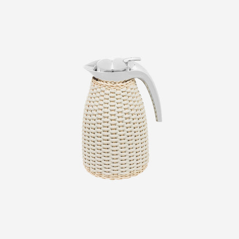 Arles Leather & Rattan Carafe - 1 L