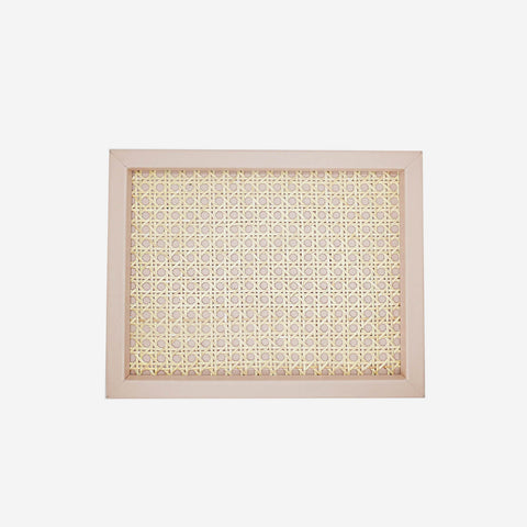 Pigment France - Chaumont Cipria Leather & Rattan Tray