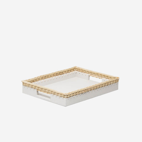 Pigment France Giverny Tray White