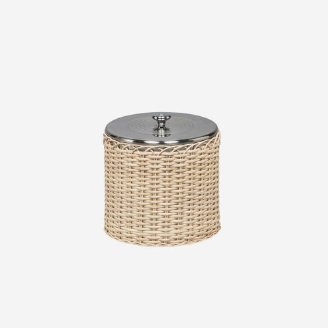 Menton Large Natural Rattan Ice Bucket