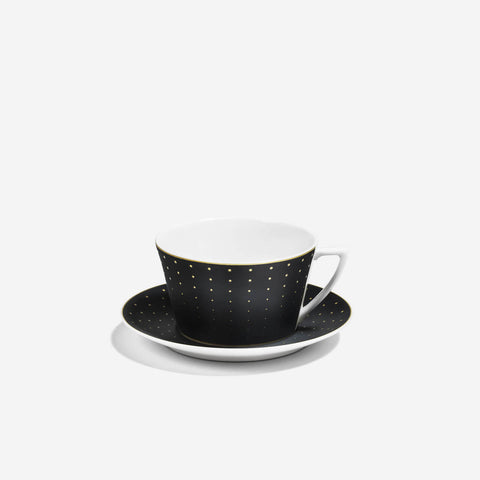 Richard Brendon Hex Teacup & Saucer -BONADEA