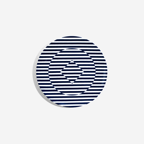 Richard Brendon - Superstripe Salad Plate -BONADEA