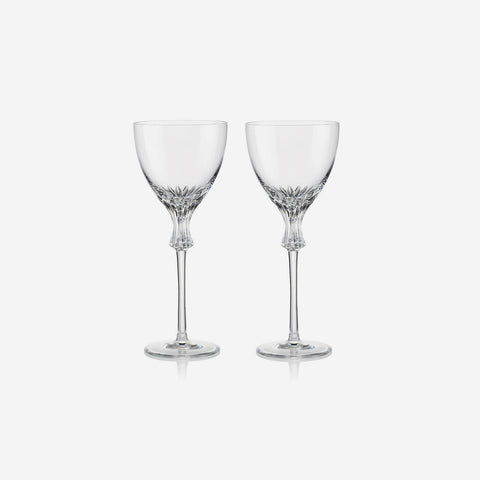Rogaska Crystal Omega Red Wine Glass (Set of Two)