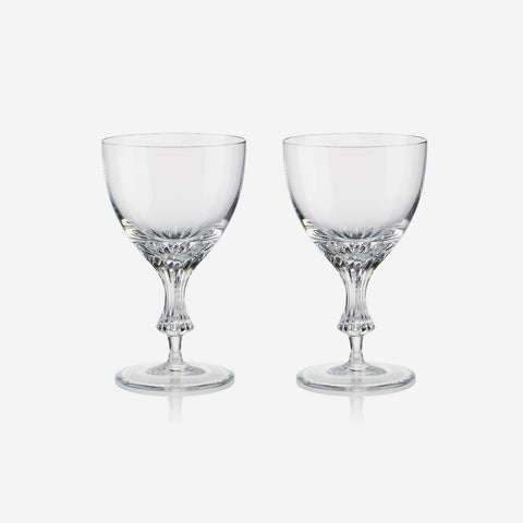 Rogaska Crystal Omega Water Stemmed Glass (Set of Two)
