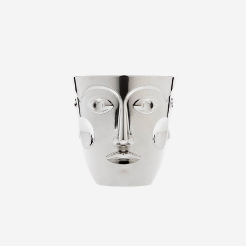 Sieger by Fürstenberg - 'Faces' Platinum Champagne Bucket