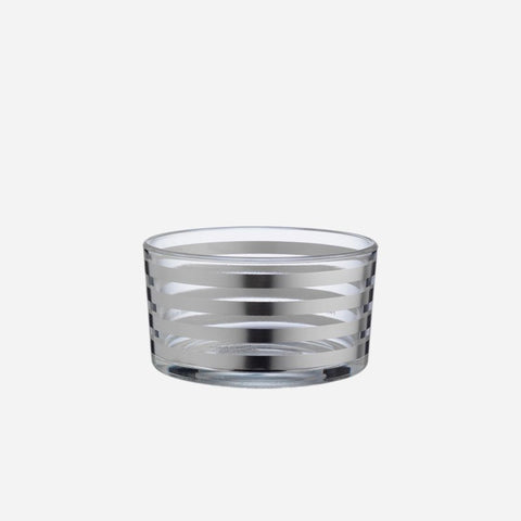 Tratto Small Silver Bowl