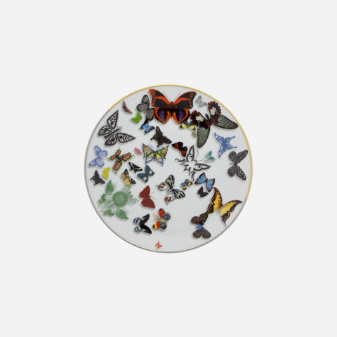 Christian Lacroix for Vista Alegre - Butterfly Parade Dessert Plate