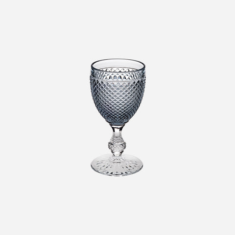 Vista Alegre - Cris Cross Smoke Top Wine Goblet - BONADEA