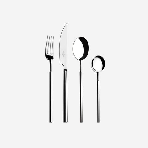 Vista Alegre Domo Stainless Steel Four Piece Cutlery Set -BONADEA