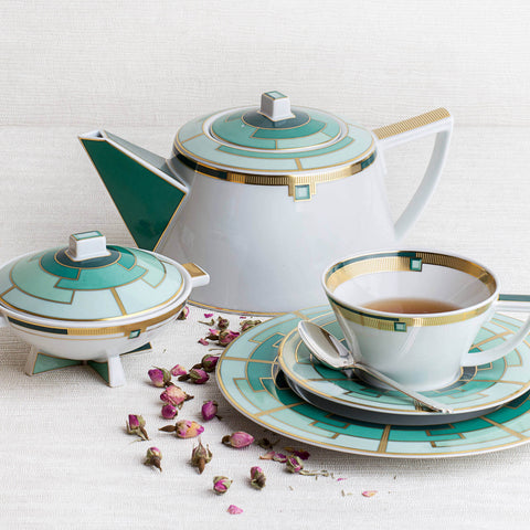 Vista Alegre - Emerald Teaware Collection