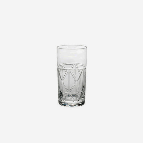 Vista Alegre Avenue  Highball Tumbler Glass -BONADEA