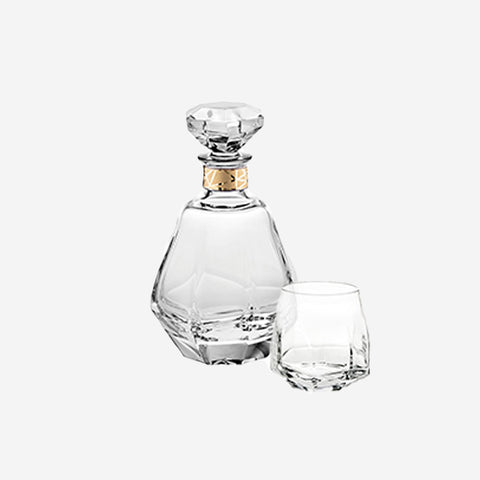 Vista Alegre Atlantis Crystal - Gemstone Whisky Decanter