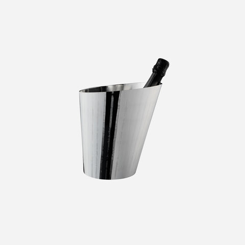 Zanetto Vie Silverplated Champagne Bucket -BONADEA