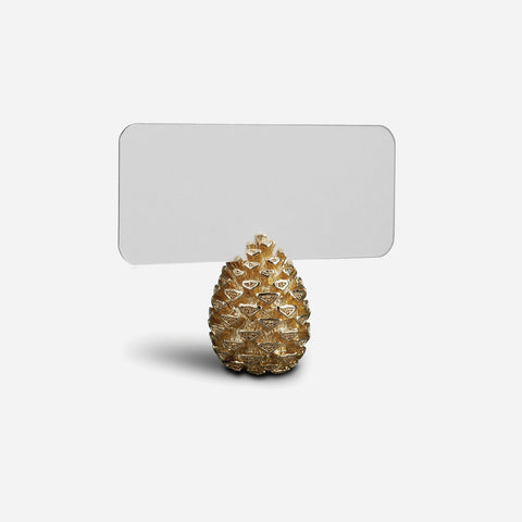 L'Objet Pinecone Set of 6 Place Card Holder - BONADEA