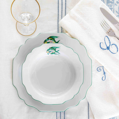 Belvedere Weever Soup Plate
