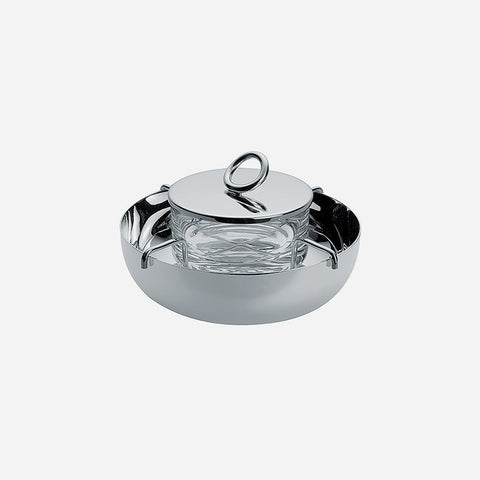 Christofle Vertigo Silver-plated Caviar Serving Dish - BONADEA