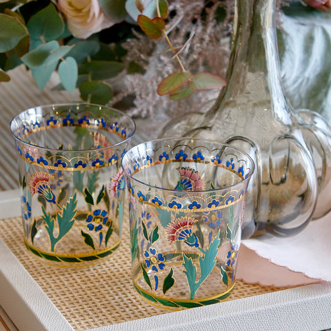 Handpainted Persian Flower No. 3 Tumbler