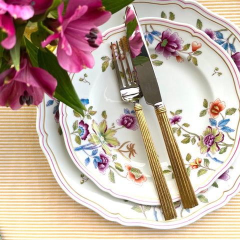 Wheat Gold 5-Piece Cutlery Set michael aram bonadea