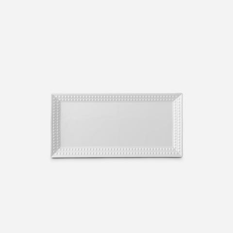 Perlée White Rectangular Platter