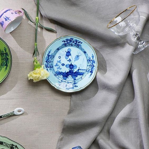 Oriente Italiano Soup Plate Iris Set of Two Bonadea
