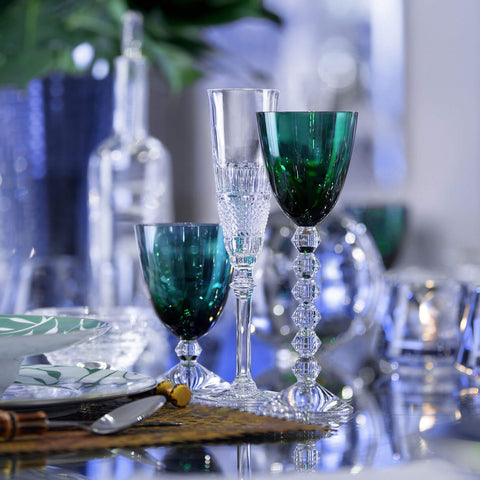 Véga Glass Green Baccarat