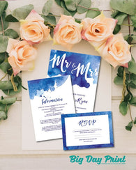 Flat Wedding Stationery Gold Deal