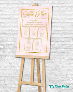 Paper Table Plan