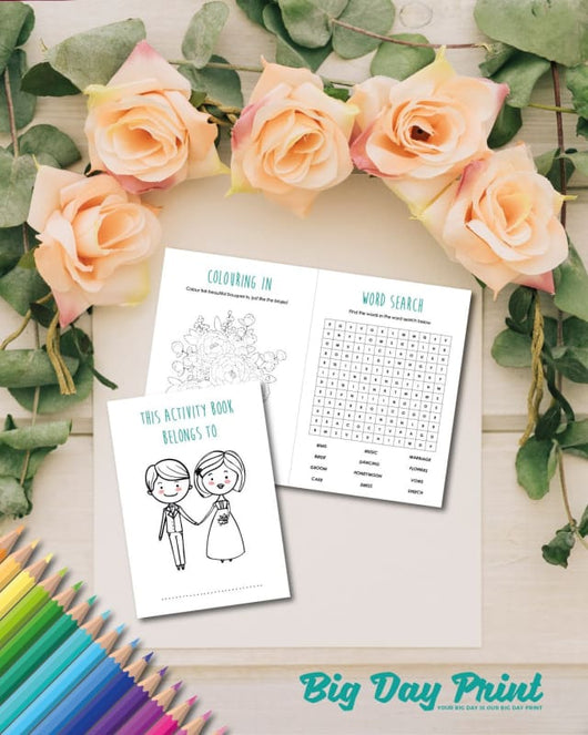 Wedding Activity Pack