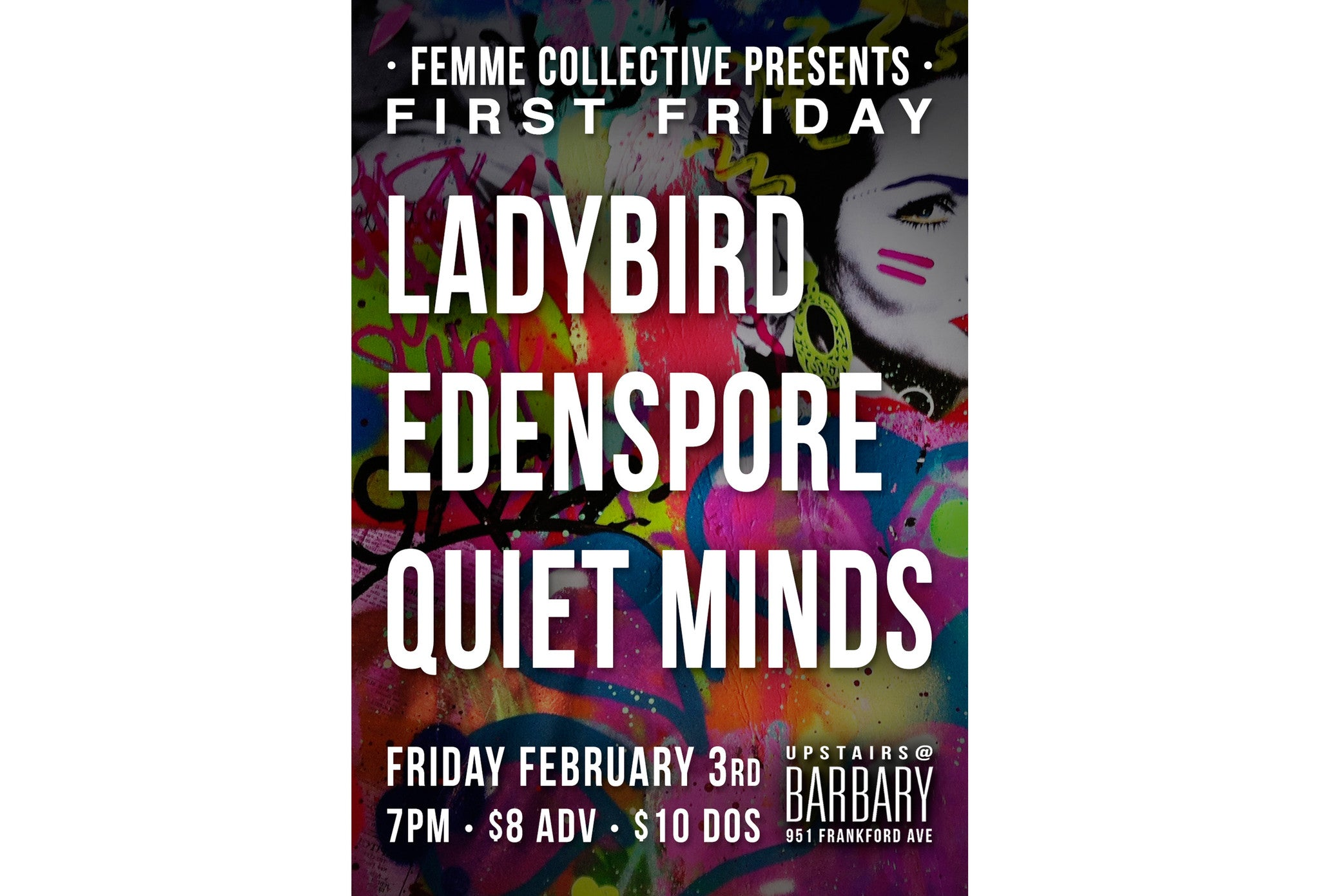Join Radical Hearts at Femme.Collective's Women-Led Music & Art Showcase