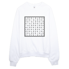 Love Is Love - Raglan Sweatshirt