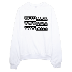 United We Stand - Raglan Sweatshirt