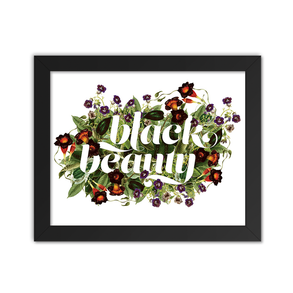 Black Beauty Floral
