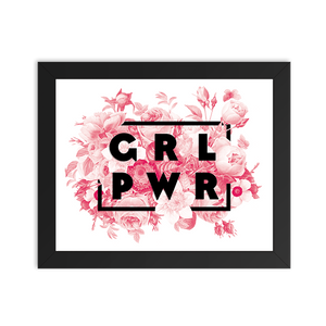 Girl Power Floral