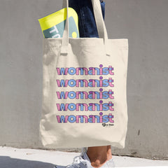 Womanist. - Cotton Tote Bag