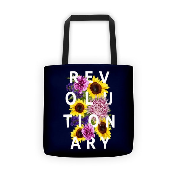 Revolutionary Floral - Tote Bag