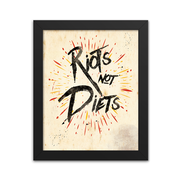 Riots Not Diets - Art Print