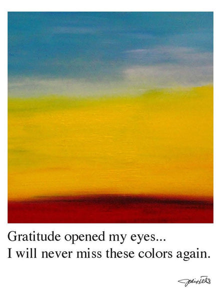Gratitude Opened My Eyes (1032)