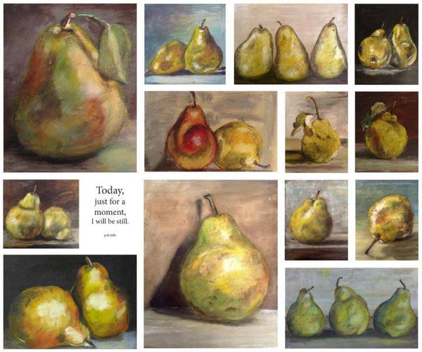 Pear Collage - Be Still (1195)