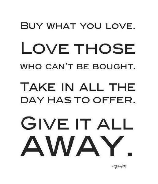 Buy What You Love (2058)