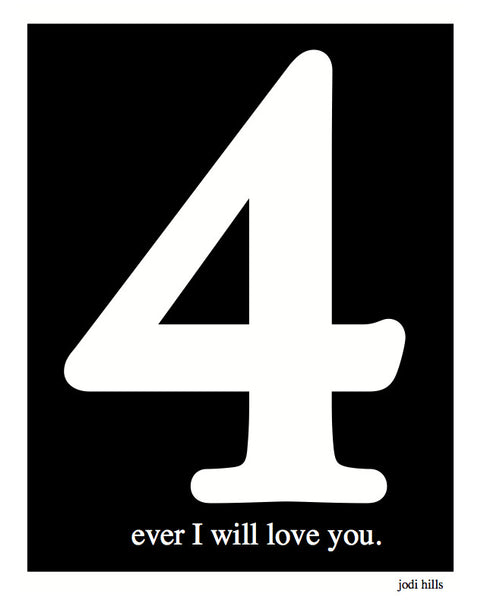 Number 4 Ever I Will Love You (2125)