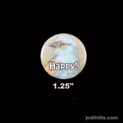 Card & Button Set - Happy (1294)