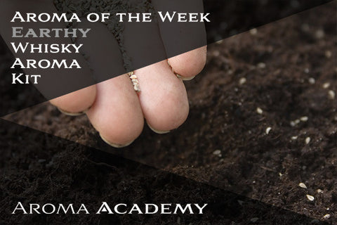 Featured Aroma of the Week : Whisky Aroma Kit : Earthy
