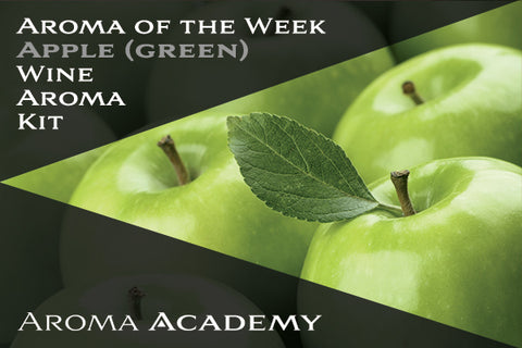 Featured Aroma of the Week : Wine Aroma Kit : Apple (Green)