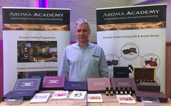 Alan Gordon Aroma Academy Whisky Live London