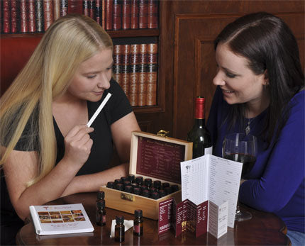 Wine Aroma Kit in use